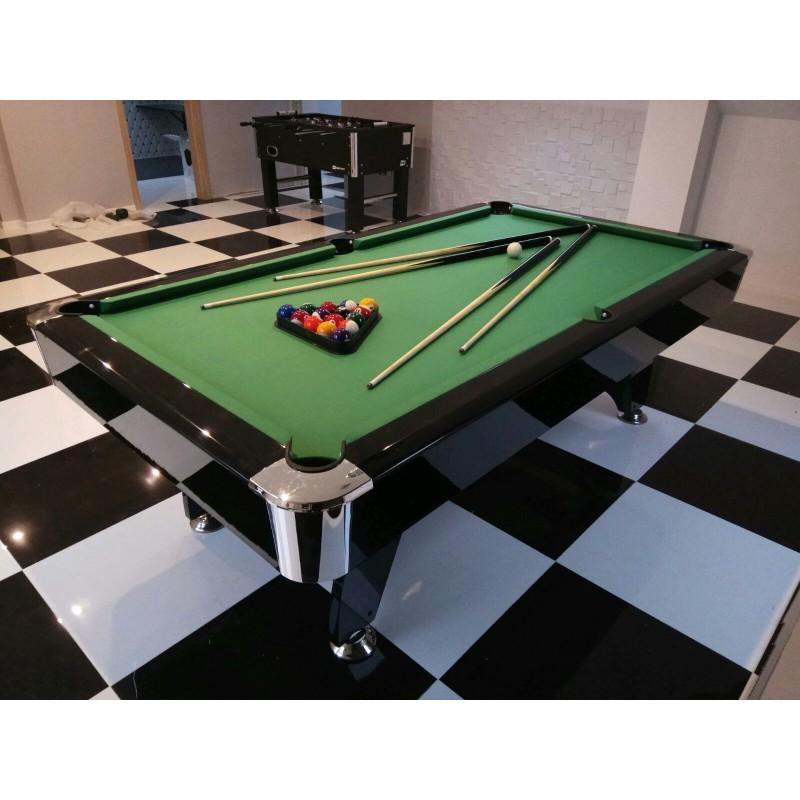 Diamond 6FT MDF Bed Pool Table High Gloss
