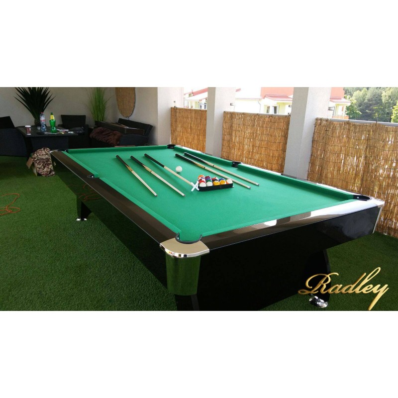 Diamond 7ft Mdf Bed Pool Table High Gloss Radley Pool Tables