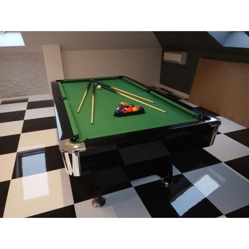 Diamond 7FT MDF Bed Pool Table High Gloss