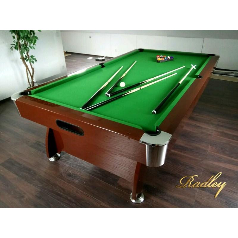 Diamond 8FT MDF Bed Pool Table High Gloss