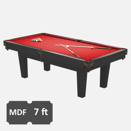 Prime 7FT MDF Bed Pool Dining Table