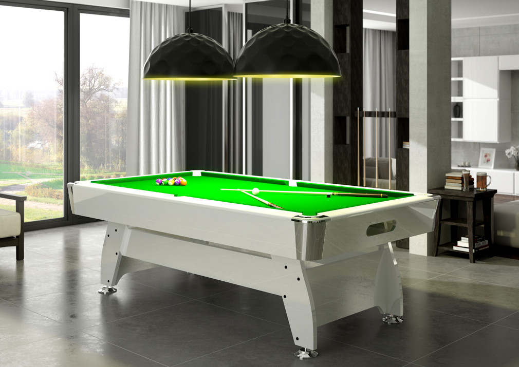 Diamond FT Slate Bed Pool Table High Gloss Radley Pool Tables - Pool table assembly service near me