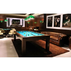 5FT Pool Table Chicago Wood Bed Billiard