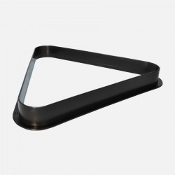 57,2 mm plastic pool ball rack - black