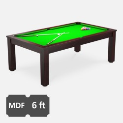 Verso 6FT MDF Bed Pool Dining Table