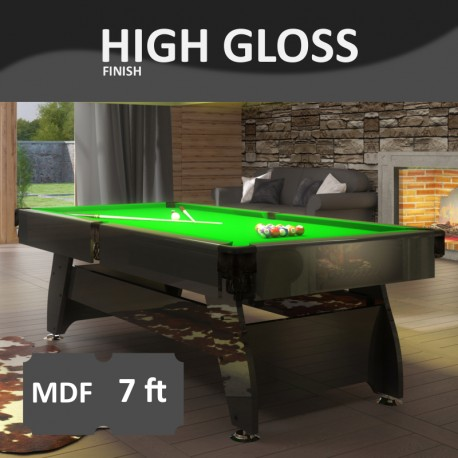 Pool Table Vintage 7FT lacquered
