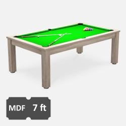 Verso 7FT MDF Bed Pool Dining Table