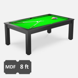 Verso 8FT MDF Bed Pool Dining Table