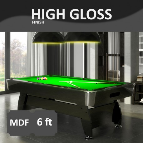 Pool Table Diamond 6FT lacquered