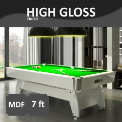 Diamond 7FT MDF Bed Pool Table High Gloss