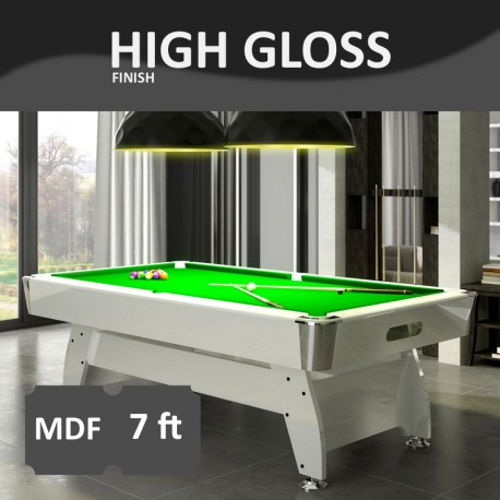 Pool Table Diamond 7FT lacquered