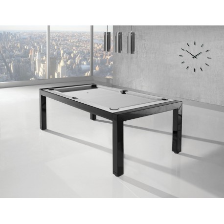 Rollover Pool Table Portland 6FT Wood Bed Pool Dining Table Metal Construction