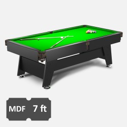 Vintage 7FT MDF Bed Pool Table