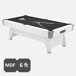 Pool Table Diamond 6FT mdf bed