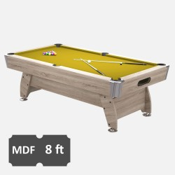 Diamond 8FT MDF Bed Pool Table