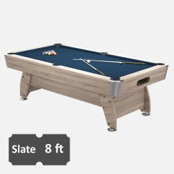 Diamond 8FT Slate Bed Pool Table