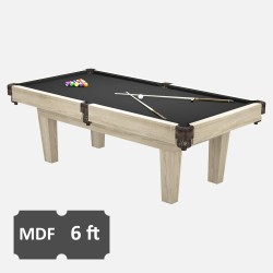 Prime 6FT MDF Bed Pool Dining Table