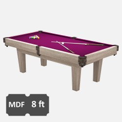 Prime 8FT MDF Bed Pool Dining Table