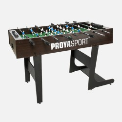 ProyaSport S11 Foldable Football Table Brown & Black