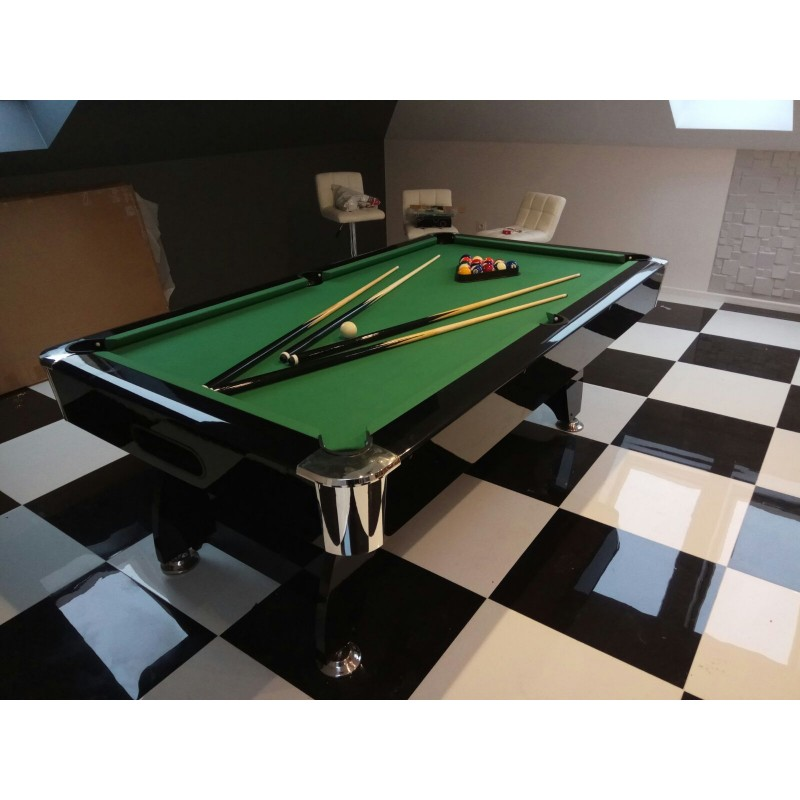 Superb Diamond 9Ft Slate Bed Pool Table High Gloss Radley Pool Tables Interior Design Ideas Ghosoteloinfo