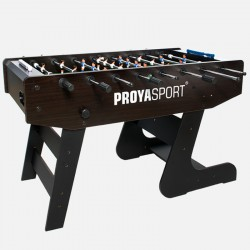 ProyaSport S15 Foldable Football Table Brown & Black