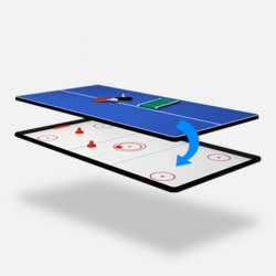 7ft Reversible Air Hockey / Table Tennis Top