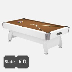 Diamond 6FT Slate Bed Pool Table